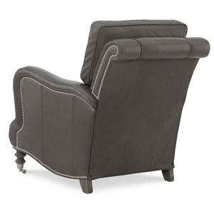 Cyrus Leather Tilt Back Chair