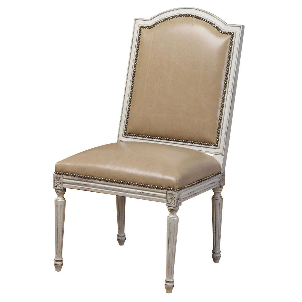 Maxis Leather Side Chair