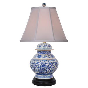 Temple Porcelain Jar Lamp