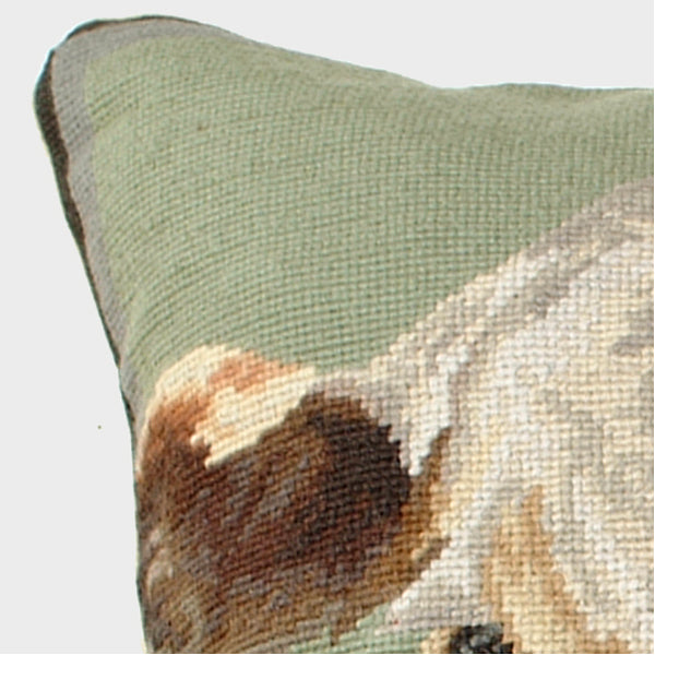 Hereford Needlepoint Pillow