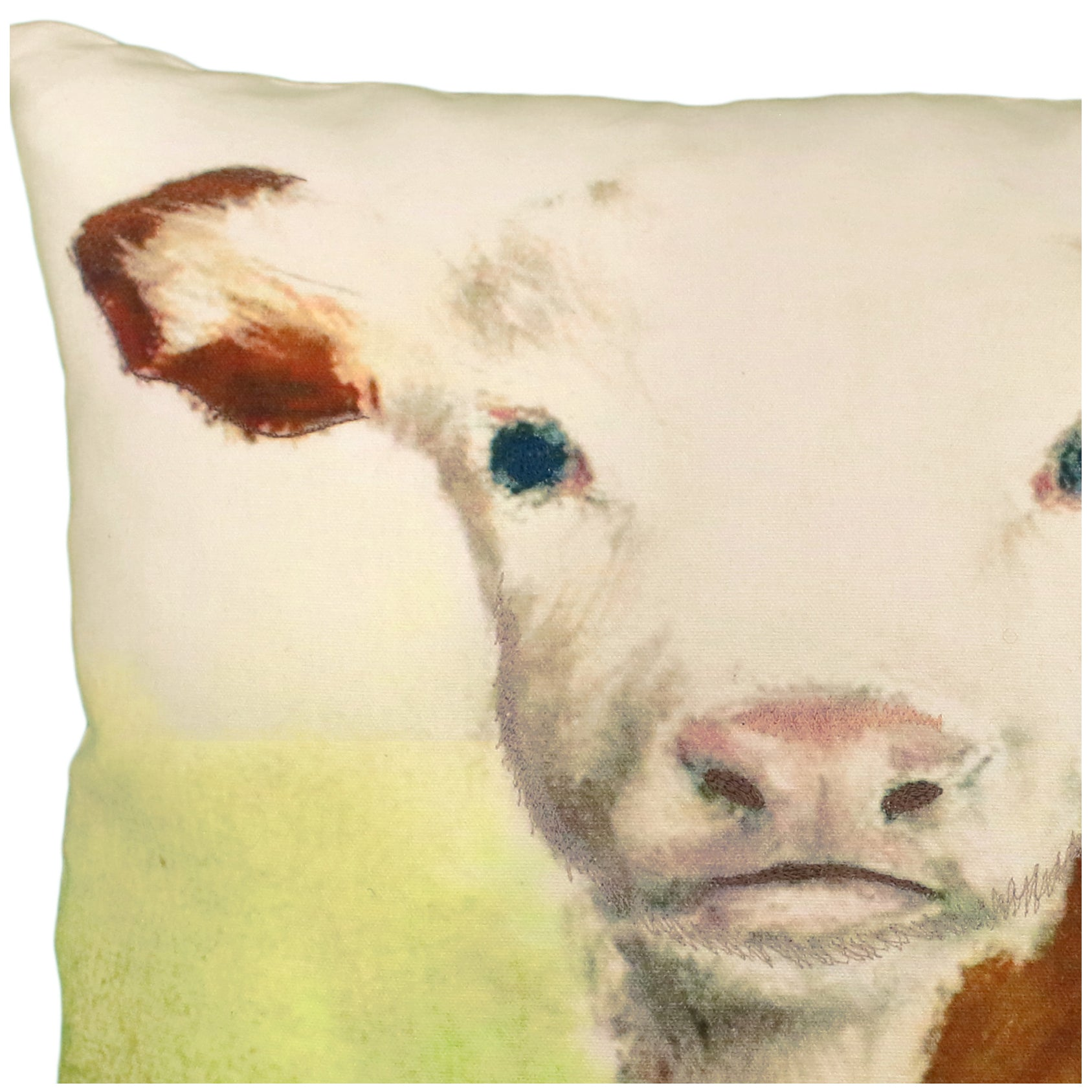 Christine Cow Printed Pillow