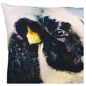 Chelsea Cow Printed Pillow
