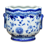 Blue & White Porcelain Cachepot