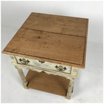 Potboard Base Square Side Tables