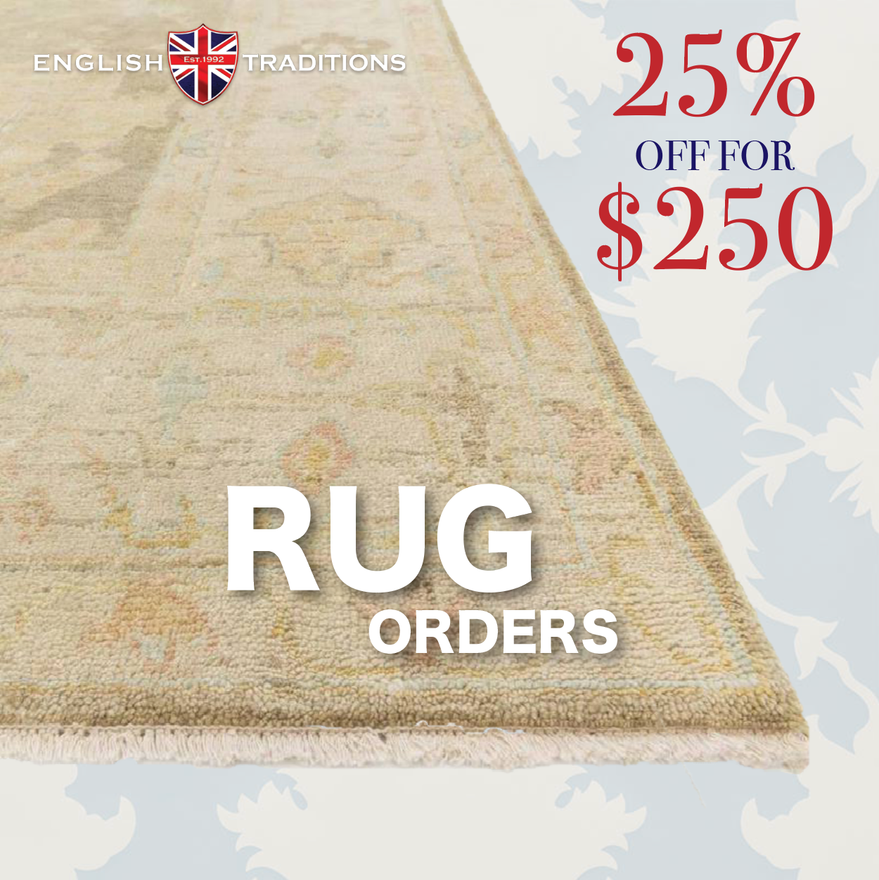 Rug Voucher - Buy Now Save Later