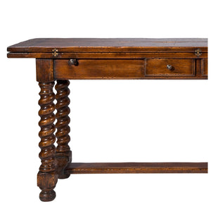 Hunt Table with Twisted Legs