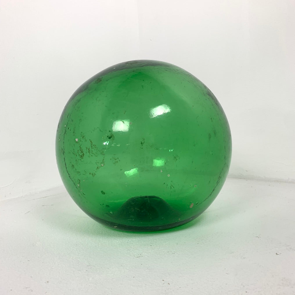 Antique Hand Blown Glass Ocean Buoy