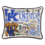 University of Kentucky Collegiate Embroidered Pillow