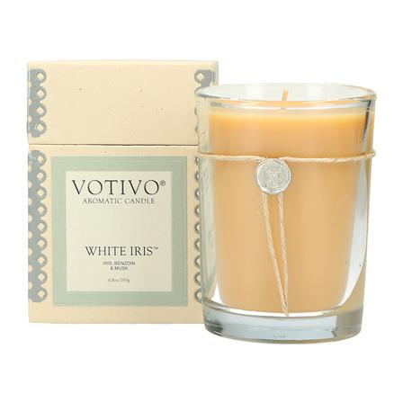 White Iris Aromatic Candle