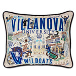 Villanova University Collegiate Embroidered Pillow