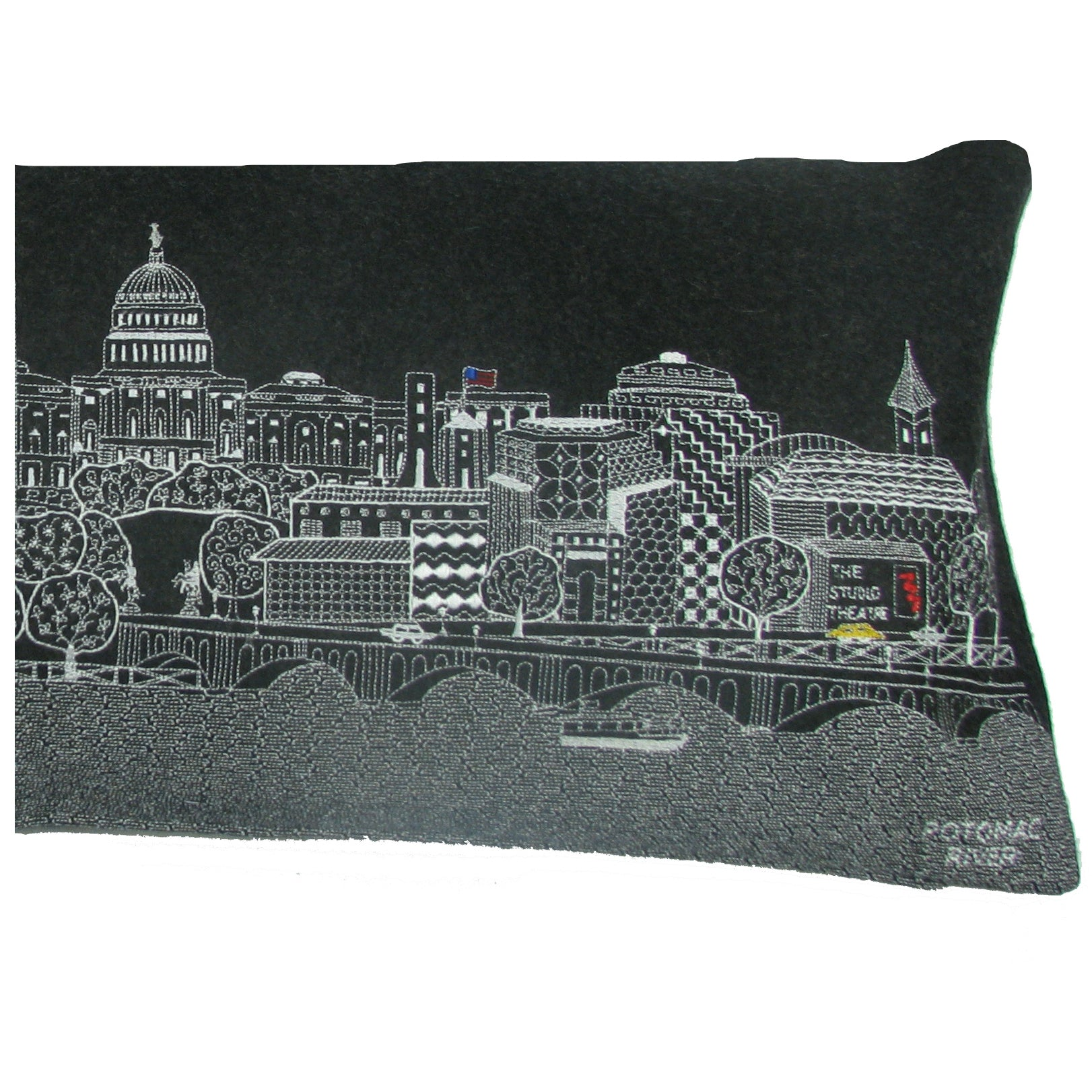 Washington D.C. Skyline Pillow