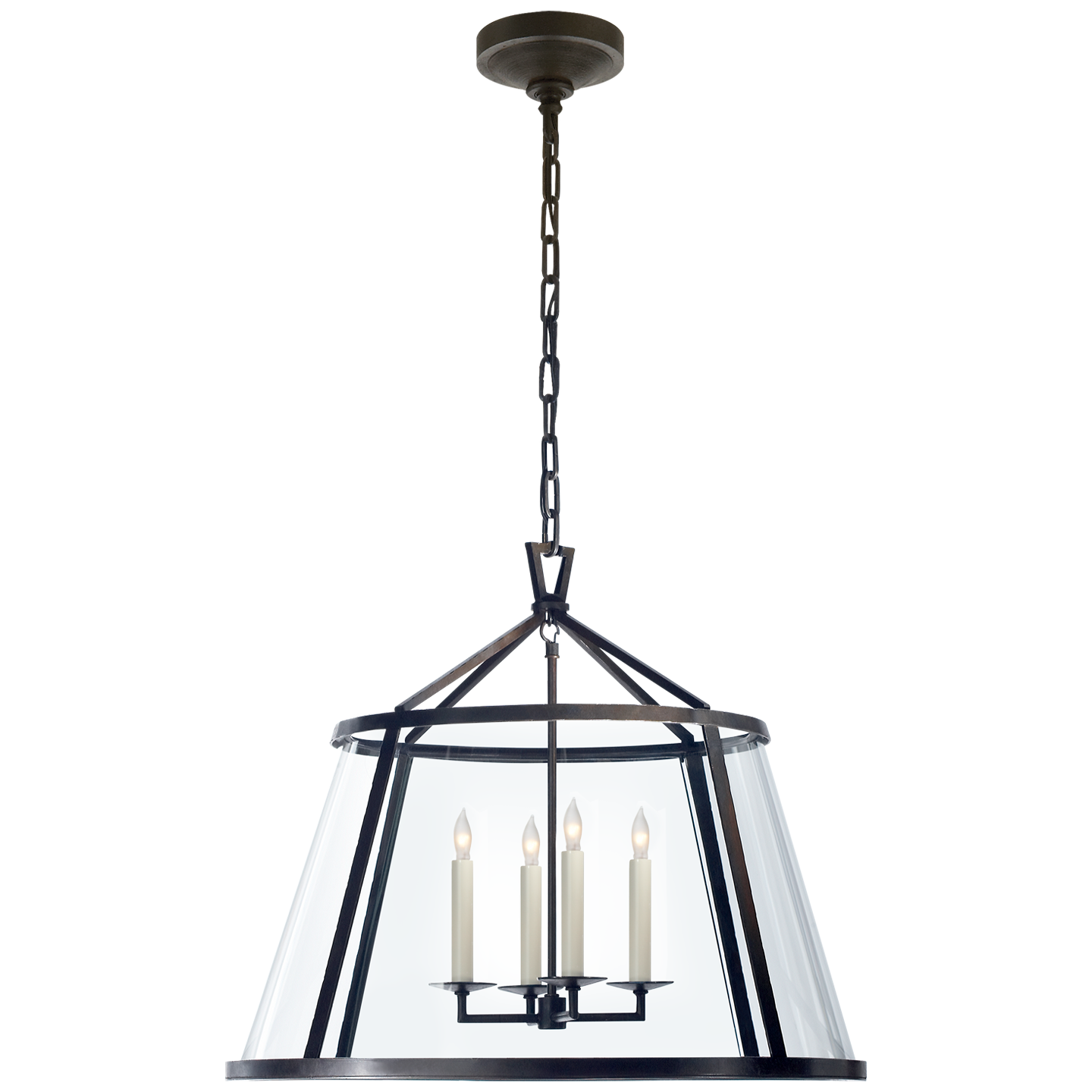 "Darlana 24"" Pendant with Clear Glass"