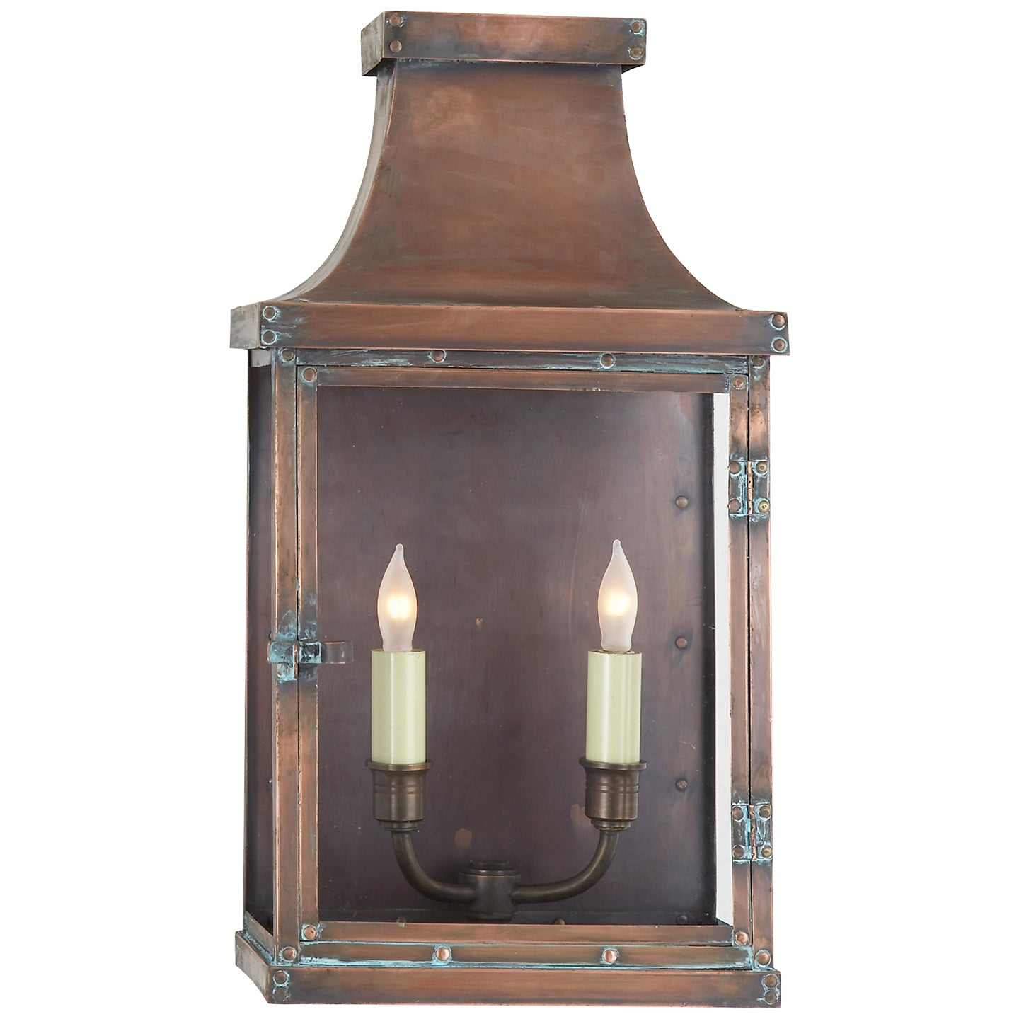 Bedford Wide Short 3/4 Lantern
