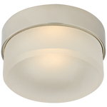 "Barton 4"" Solitaire Flush Mount"