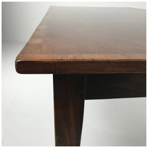 Farmhouse Table with Banding & Tapered Legs