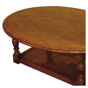 Oval Potboard Coffee Table
