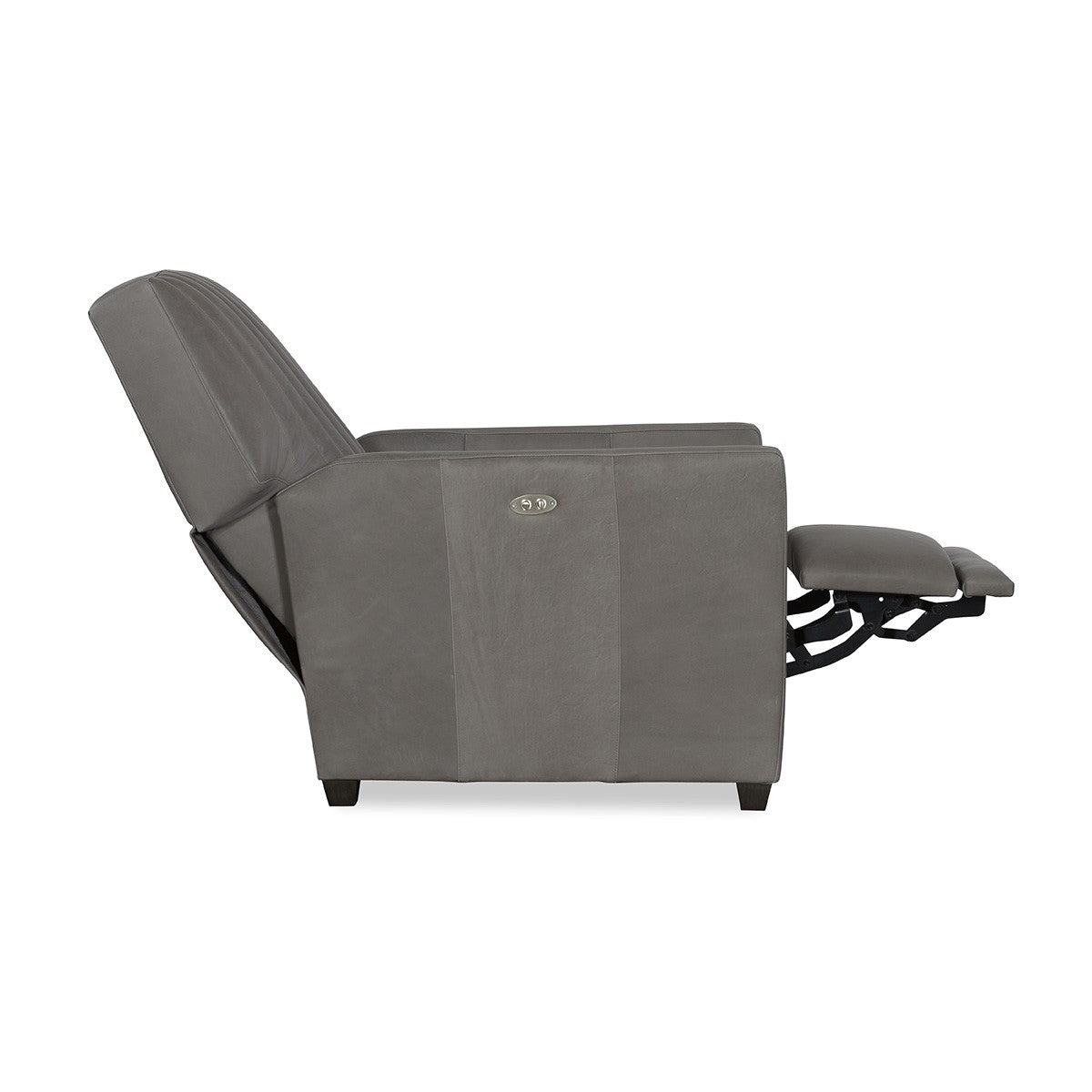 Malcolm Leather Channel Back Power Recliner