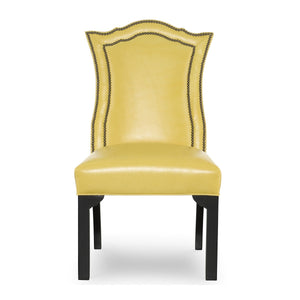 Izzy Leather Dining Side Chair