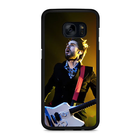 30 Second To Mars Guitar Permormance Samsung Galaxy S7 | S7 Edge Case
