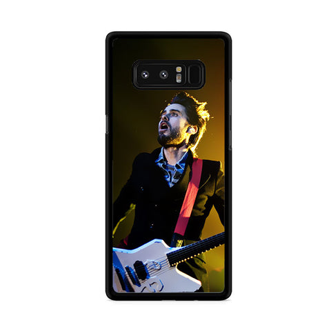 30 Second To Mars Guitar Permormance Samsung Galaxy Note 8 Case