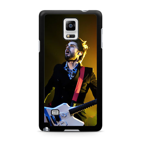 30 Second To Mars Guitar Permormance Samsung Galaxy Note 4 3 2 Case