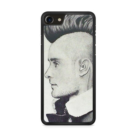 30 Second To Mars Hair Style iPhone 8 Case