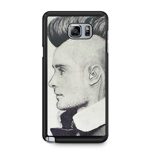 30 Second To Mars Hair Style Samsung Galaxy Note 5 7 5 Edge | Edge Case