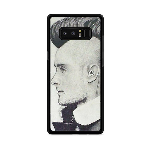 30 Second To Mars Hair Style Samsung Galaxy Note 8 Case