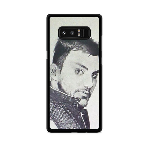 30 Second To Mars I Look Samsung Galaxy Note 8 Case