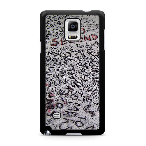 30 Second To Mars Samsung Galaxy Note 4 3 2 Case