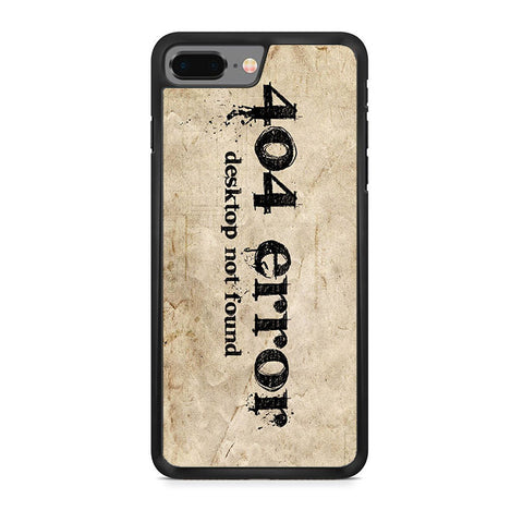 404 Error iPhone 8 Plus Case