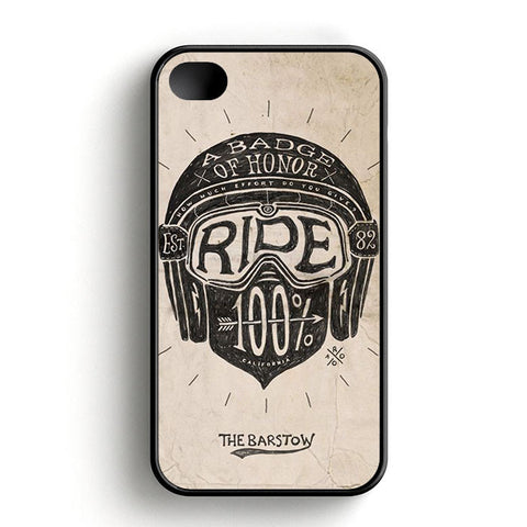 A Badge Of Honor Ride iPhone 4 | 4S Case
