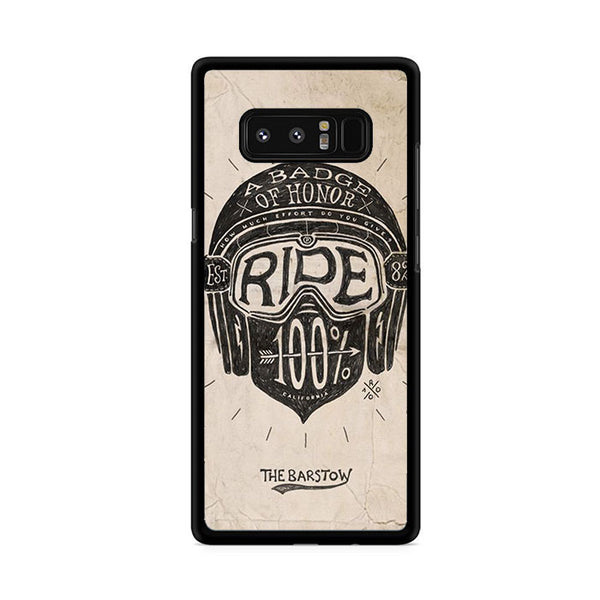 A Badge Of Honor Ride Samsung Galaxy Note 8 Case