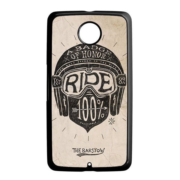 A Badge Of Honor Ride Nexus 6 5 4 8 5X Case