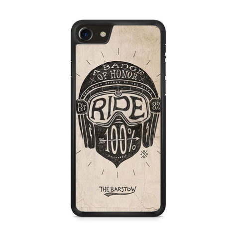A Badge Of Honor Ride iPhone 8 Case