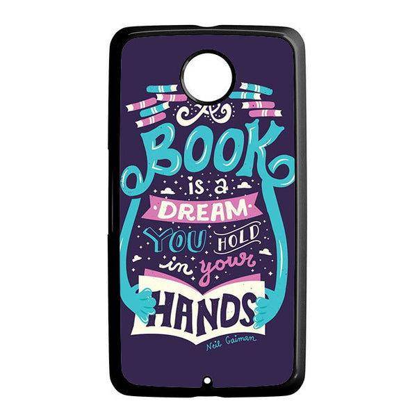 A Book Is A Dream Nexus 6 5 4 8 5X Case