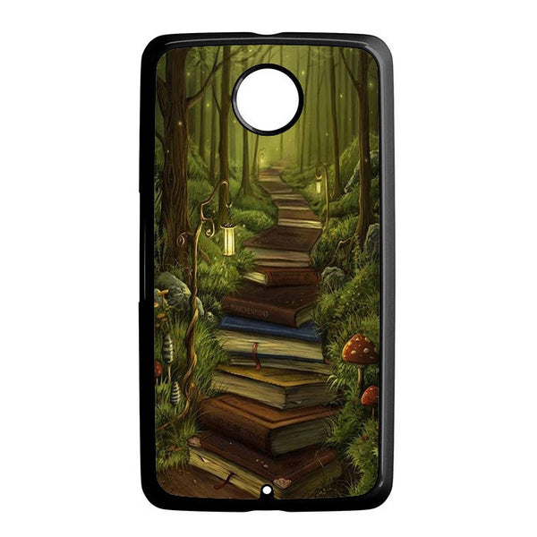 A Long Book Nexus 6 5 4 8 5X Case