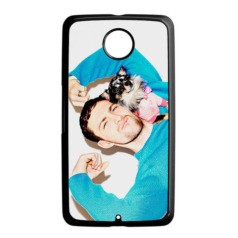 Aaron Taylor Johnson Blue Nexus 6 5 4 8 5X Case