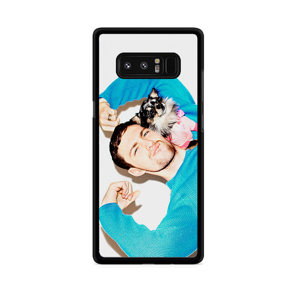 Aaron Taylor Johnson Blue Samsung Galaxy Note 8 Case