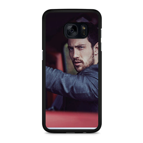 Aaron Taylor Johnson Drive Samsung Galaxy S7 | S7 Edge Case
