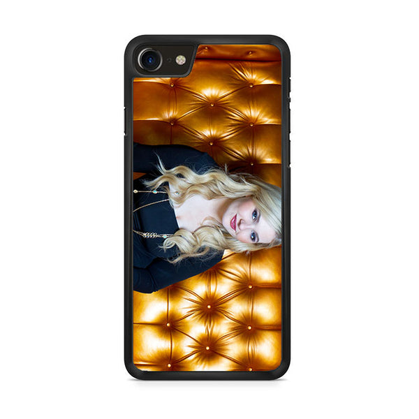 Abigail Breslin Gold Sofa iPhone 8 Case