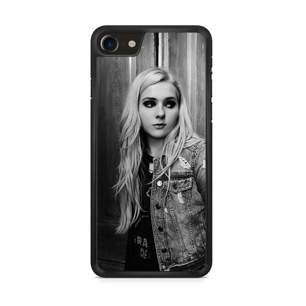 Abigail Breslin Greyscale iPhone 8 Case
