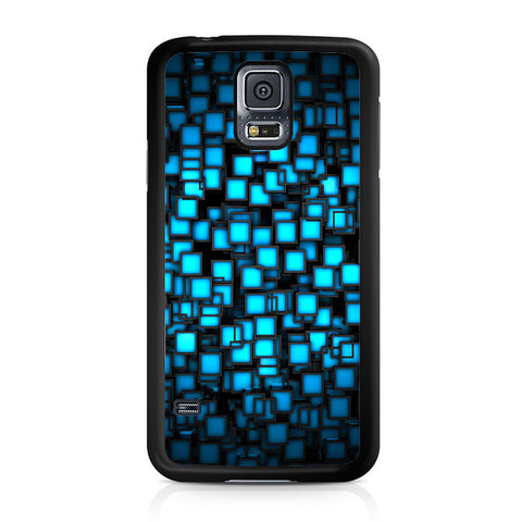 Abstract Blue Glowing Samsung Galaxy S5 | S5 Mini Case