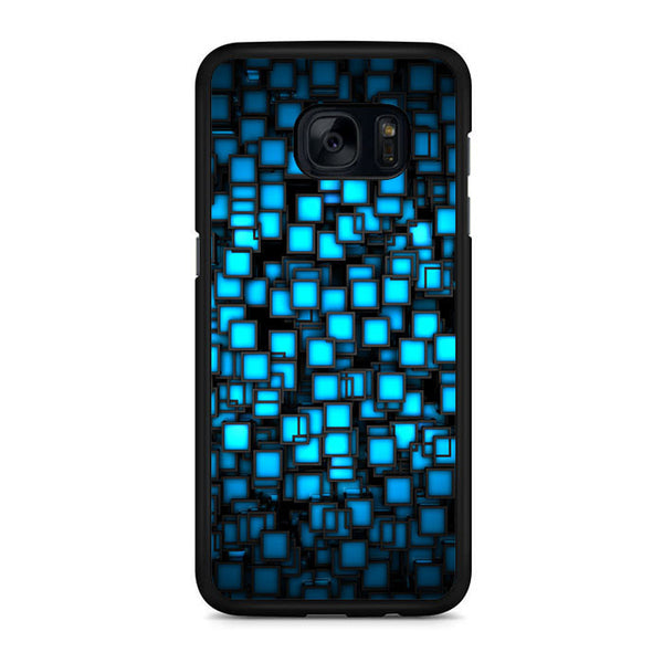 Abstract Blue Glowing Samsung Galaxy S7 | S7 Edge Case