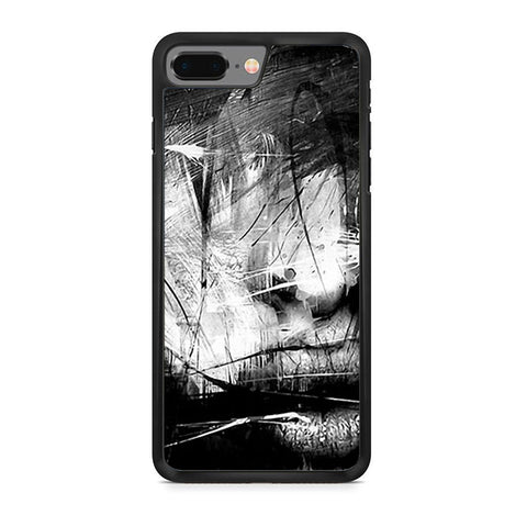 Abstract Face iPhone 8 Plus Case