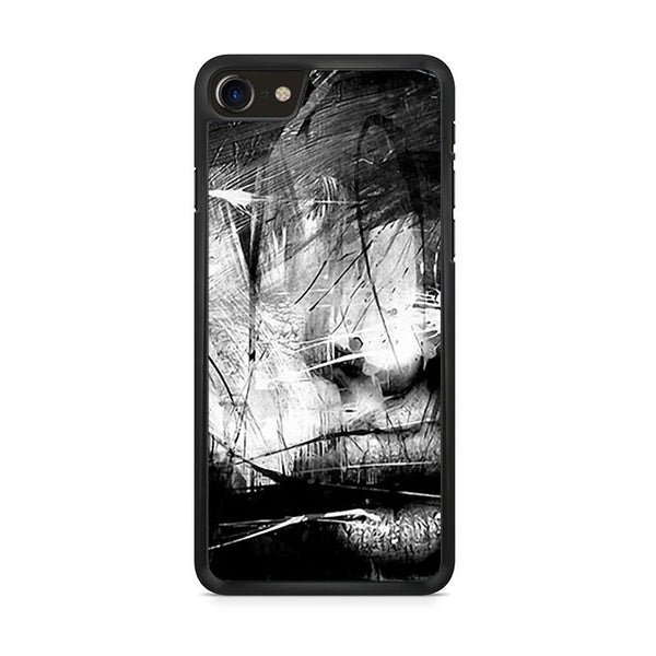 Abstract Face iPhone 8 Case