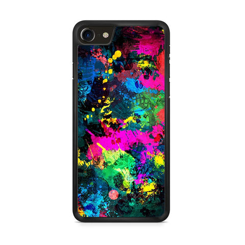 Abstract Full Color iPhone 8 Case