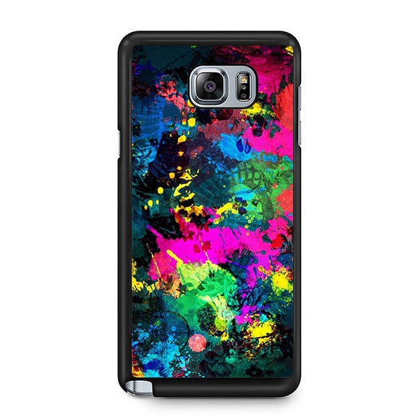 Abstract Full Color Samsung Galaxy Note 5 7 5 Edge | Edge Case