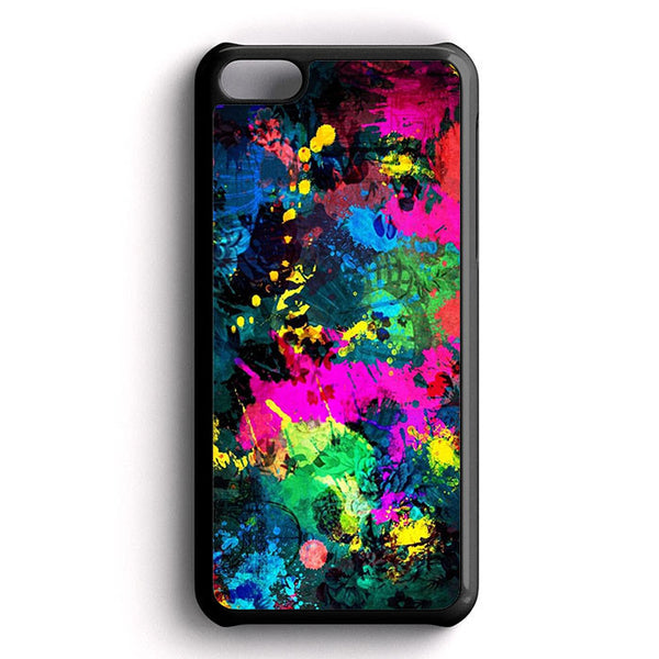 Abstract Full Color iPhone 5C Case
