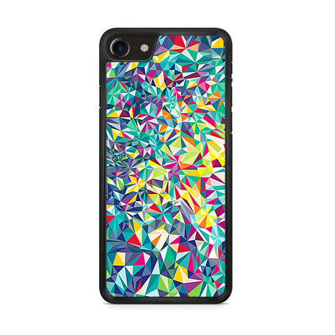 Abstract Love Heat iPhone 8 Case